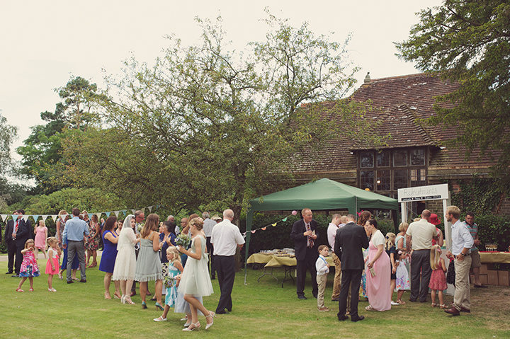 17 Garden Party Wedding By Rebecca Douglas