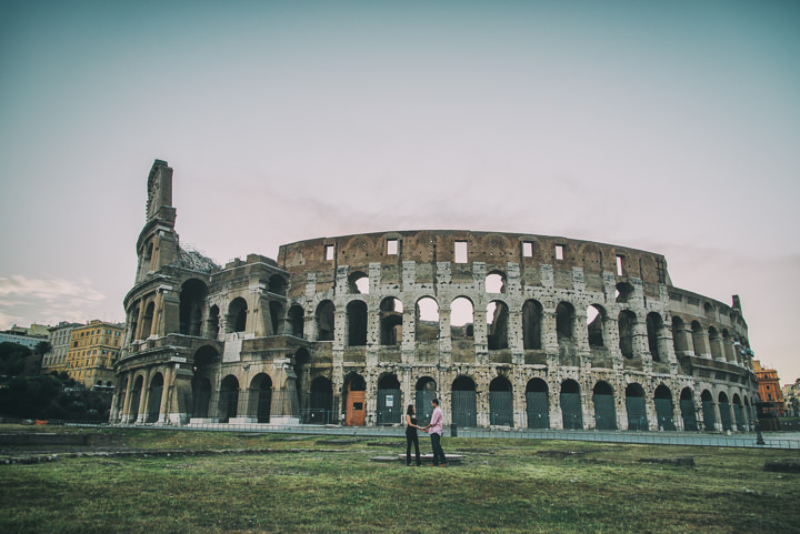 2 Pre Wedding Shoot in Rome By Emotional Wedding
