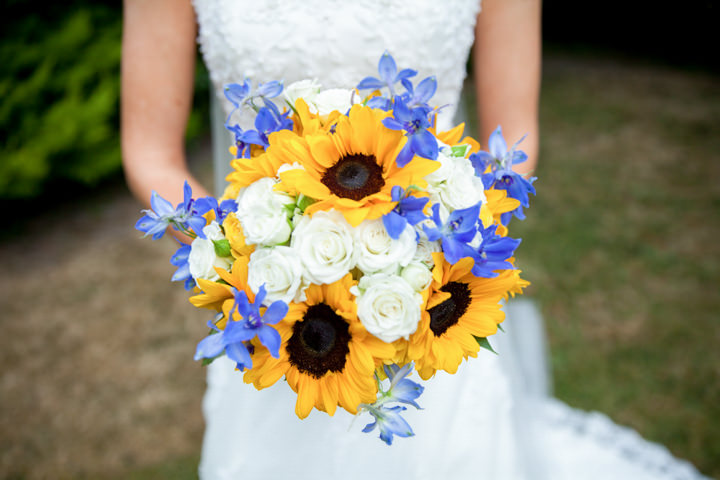 2 Sunflower Wedding By Jessica Grace Photography