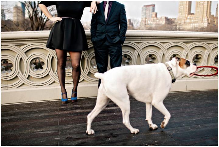 Coryne and Michael's New York Engagement Shoot.  By Monika Photo Art