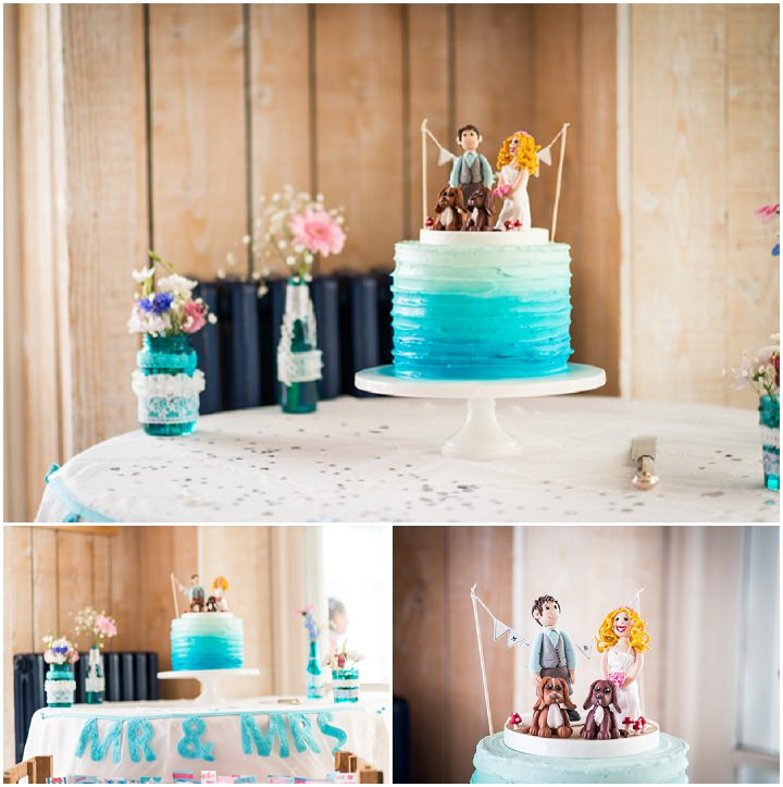 29 Turquoise and Pink Wedding By Libra Photographic