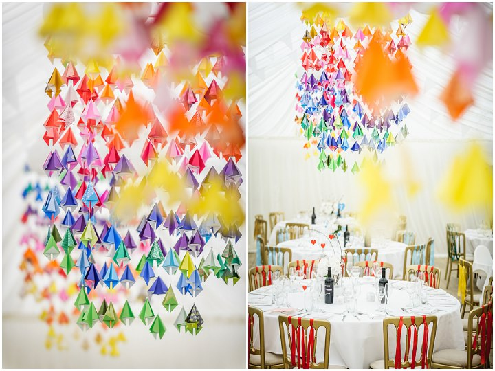 Homemade rainbow wedding by pixies in the cellar boho weddings uk rainbow wedding by pixies in the cellar junglespirit
