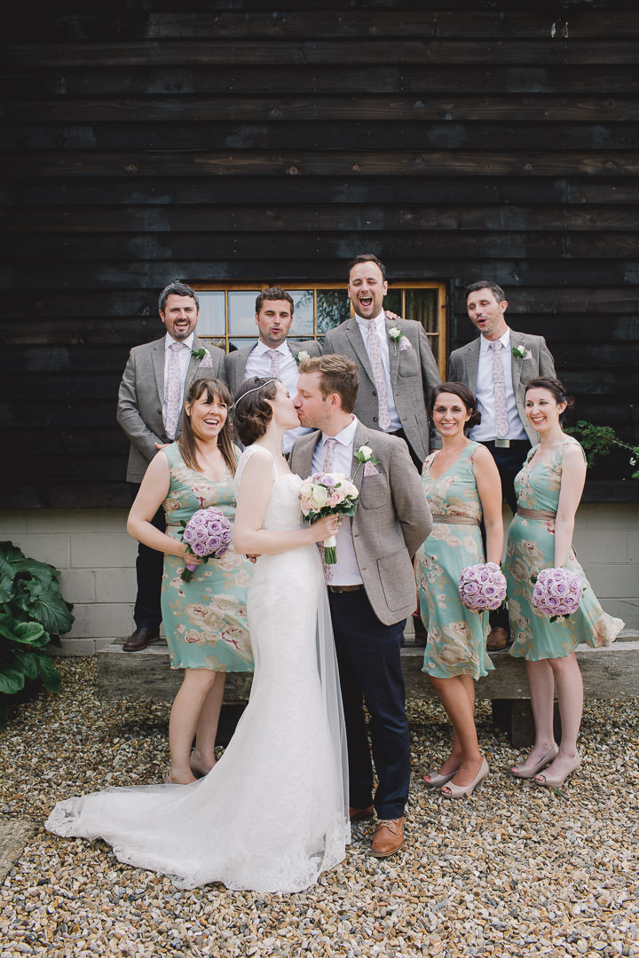 33 Relaxed Barn Wedding By Murray Clarke Potography