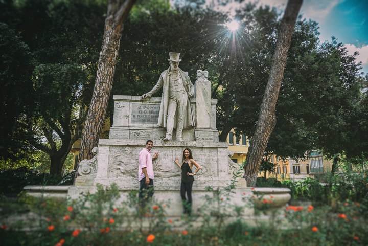 36 Pre Wedding Shoot in Rome By Emotional Wedding