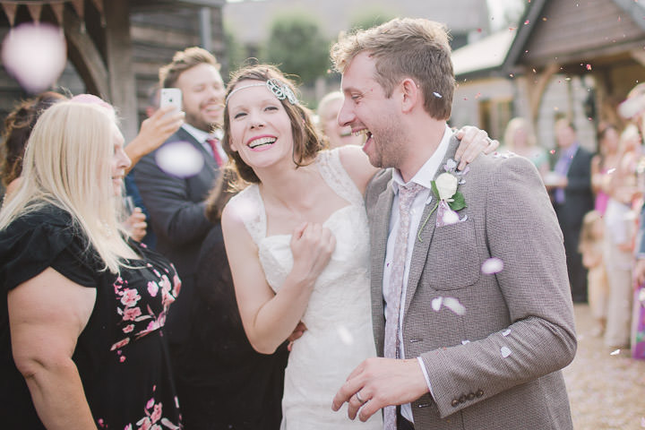 39 Relaxed Barn Wedding By Murray Clarke Potography