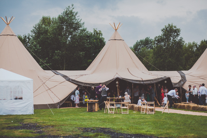 40 DIY Tipi Wedding. By  Eliza Boo