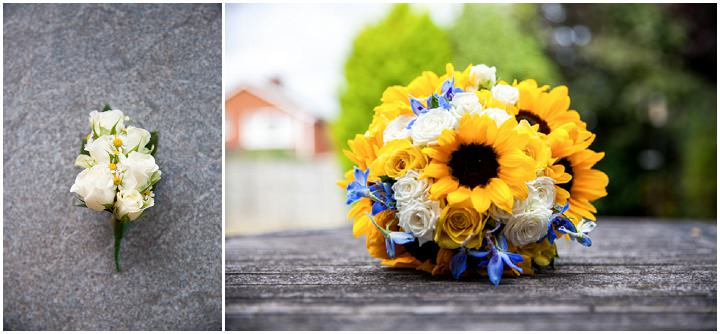 5 Sunflower Wedding By Jessica Grace Photography