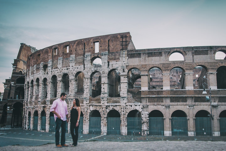 6 Pre Wedding Shoot in Rome By Emotional Wedding
