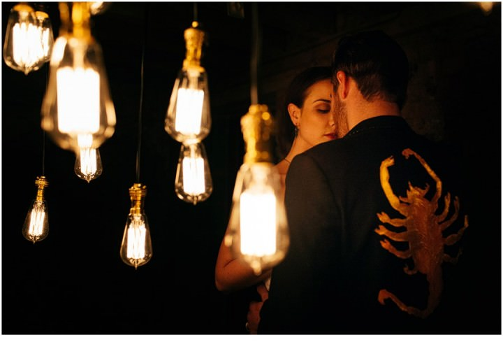 A Drive and industrial wedding inspired styled shoot in York and Leeds