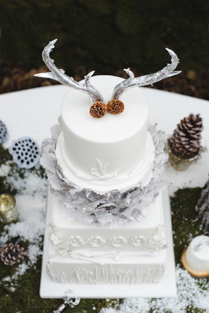 11 Winter Cake Shoot - 'A Winter's Tale Of Love'