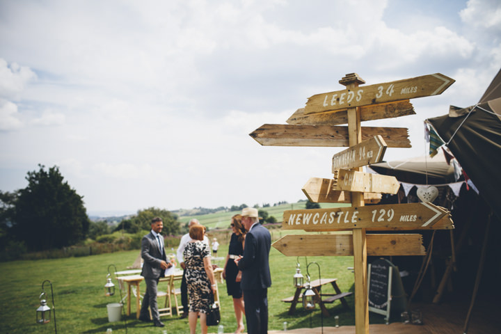 13 Homemade Tipi Wedding By Yvonne Lishman