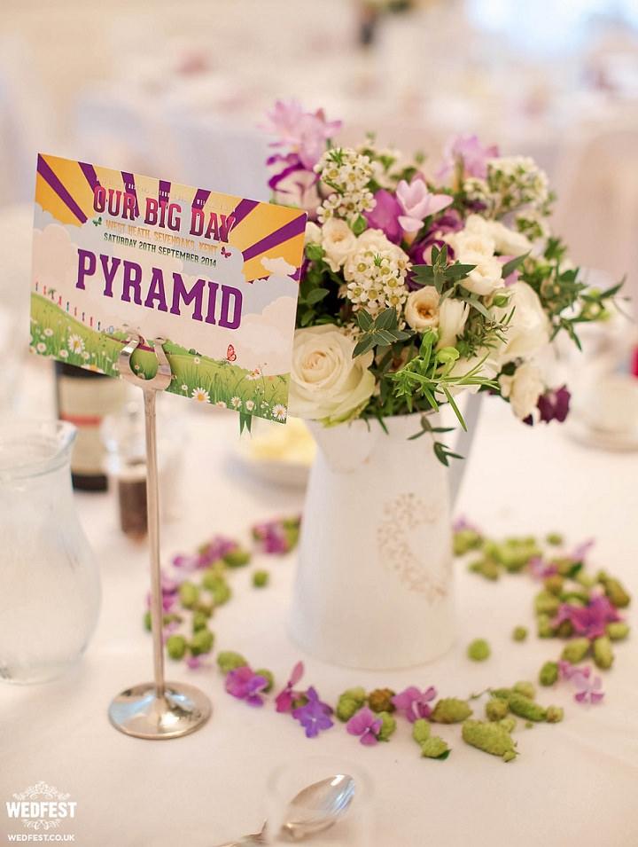 13 WEDFEST Festival Themed Wedding Stationey