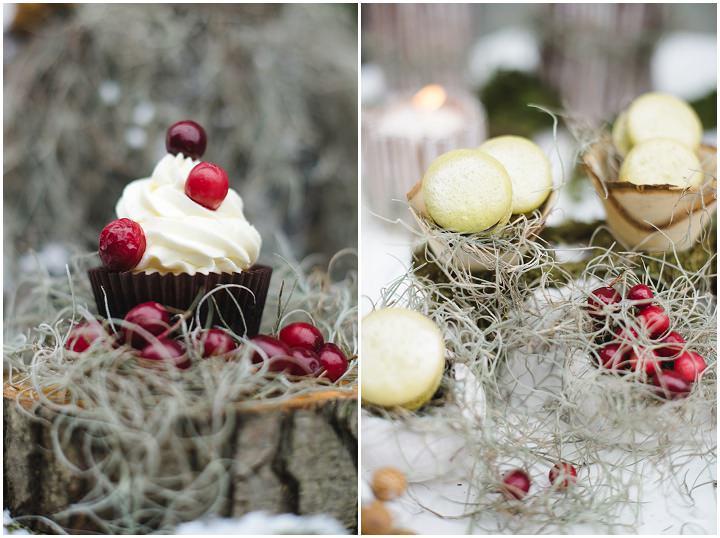 13 Winter Cake Shoot - 'A Winter's Tale Of Love'