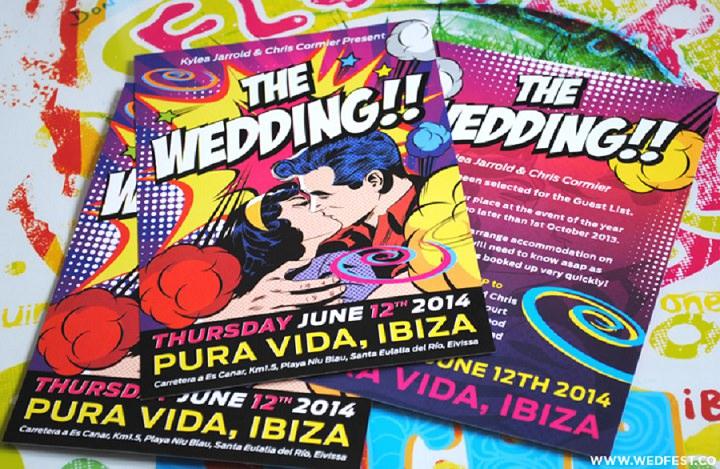 14 WEDFEST Festival Themed Wedding Stationey