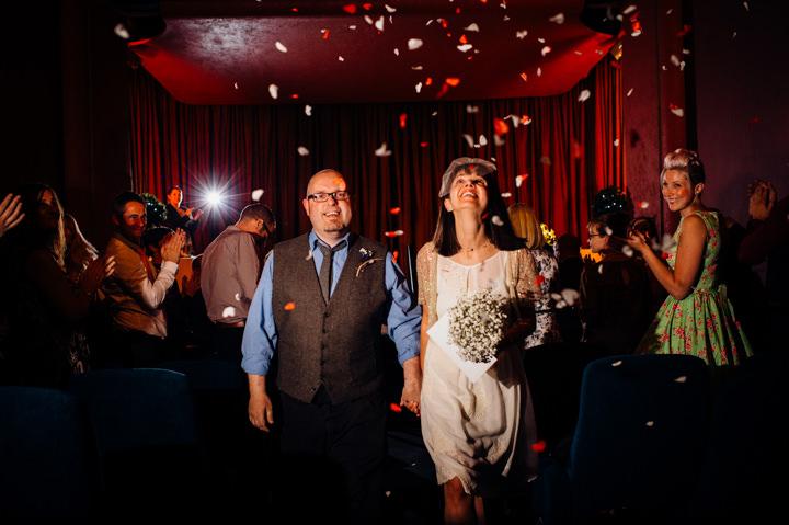 15 Vintage Cinema Wedding From Marianne Chua