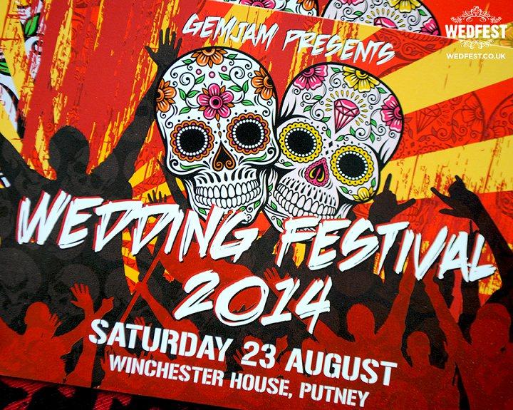 17 WEDFEST Festival Themed Wedding Stationey