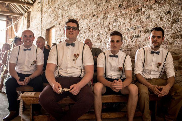 19 DIY Barn Wedding By D J Archer Photography