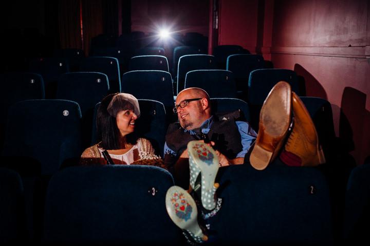19 Vintage Cinema Wedding From Marianne Chua