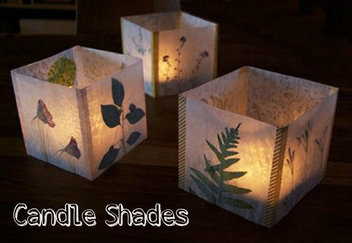 DIY Tutorial: Luminaria - Candle Shades