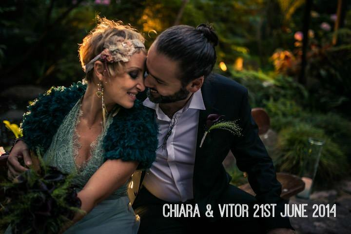 Chiara and Vitor's Stunning Conservatory Wedding with a Boho Twist. By Fabio Azanha