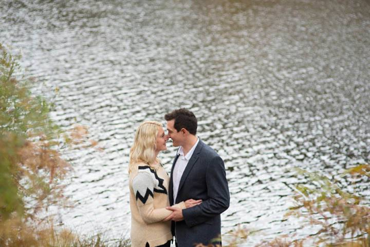 Engagement shoot in the Woods