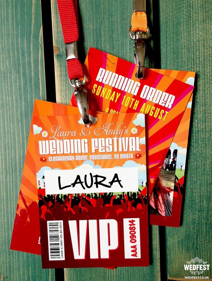 21 WEDFEST Festival Themed Wedding Stationey