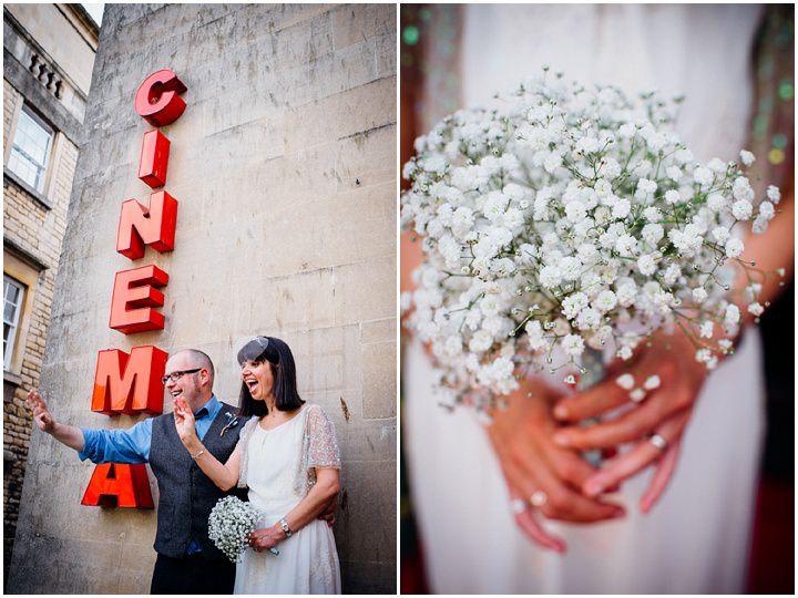 22 Vintage Cinema Wedding From Marianne Chua