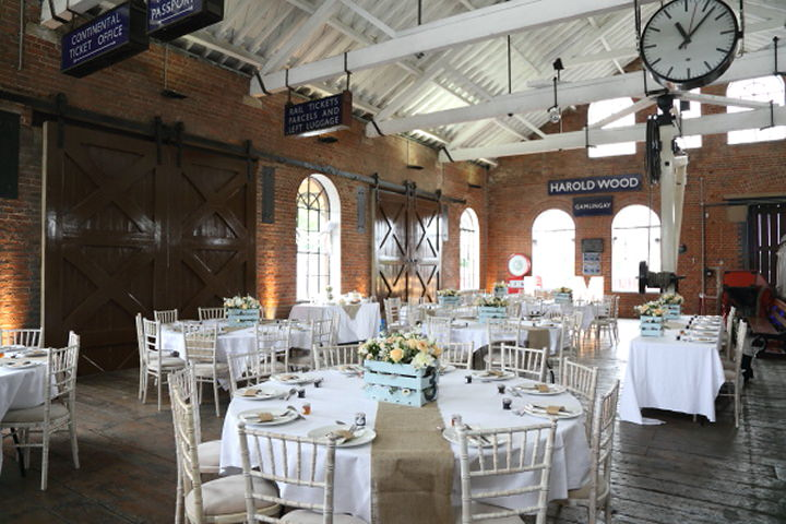 22 Vintage Railway DIY Wedding By Rebecca Prigmore Photography