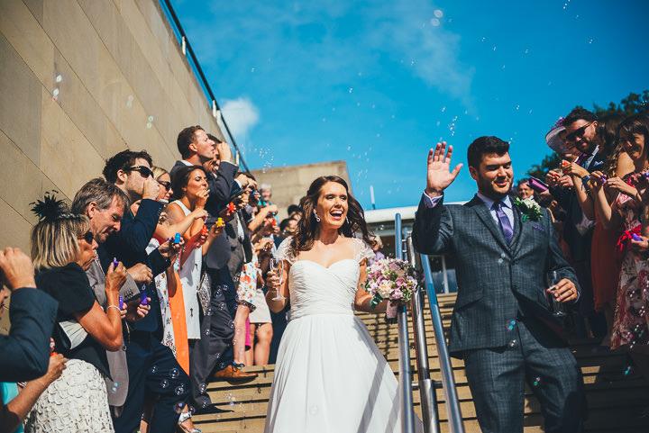 23 Multi-Coloured Wedding By Nicola Thompson Photography
