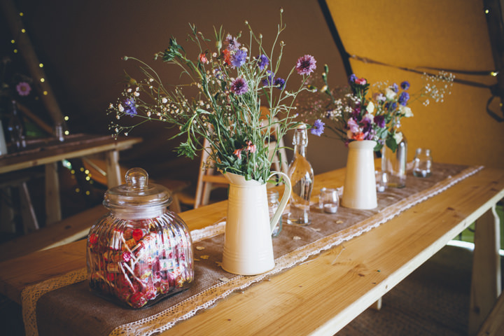 24 Homemade Tipi Wedding By Yvonne Lishman