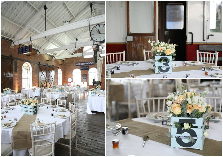 25 Vintage Railway DIY Wedding By Rebecca Prigmore Photography