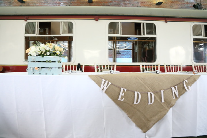 30 Vintage Railway DIY Wedding By Rebecca Prigmore Photography
