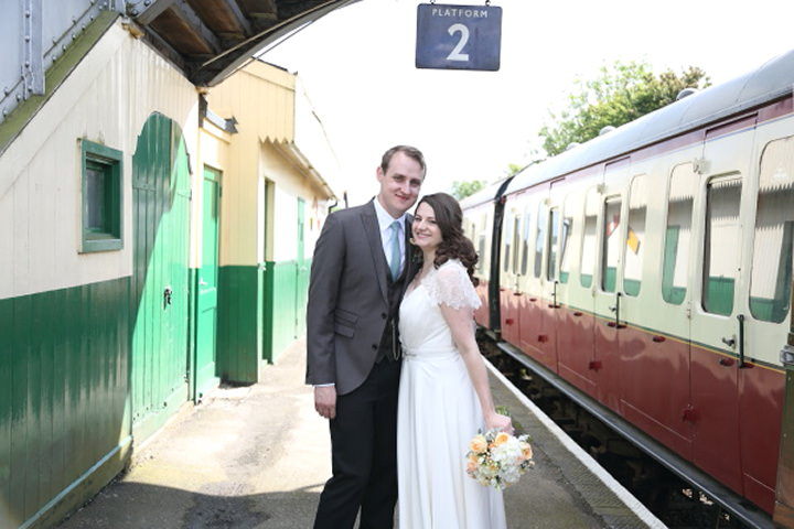 36 Vintage Railway DIY Wedding By Rebecca Prigmore Photography