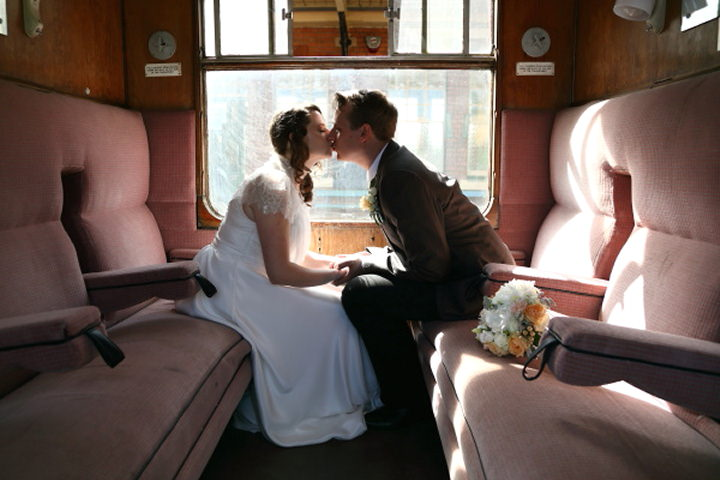 38 Vintage Railway DIY Wedding By Rebecca Prigmore Photography