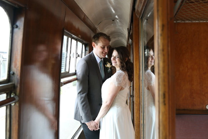 39 Vintage Railway DIY Wedding By Rebecca Prigmore Photography