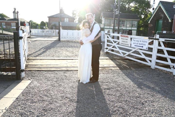 4 Vintage Railway DIY Wedding By Rebecca Prigmore Photography