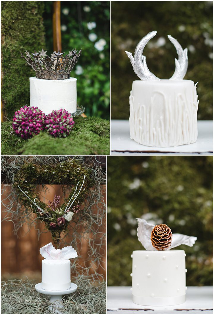 4 Winter Cake Shoot - 'Sweet Valentine'