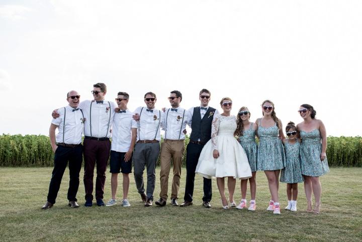 40 DIY Barn Wedding By D J Archer Photography