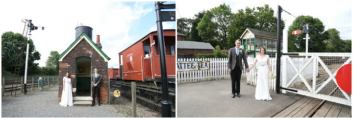 40 Vintage Railway DIY Wedding By Rebecca Prigmore Photography