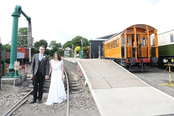 41 Vintage Railway DIY Wedding By Rebecca Prigmore Photography