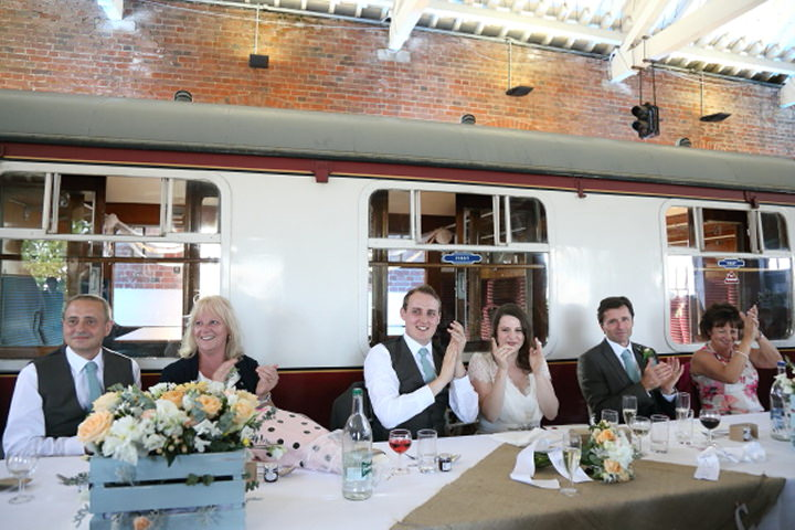 42 Vintage Railway DIY Wedding By Rebecca Prigmore Photography