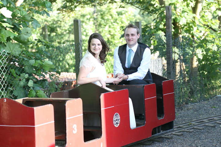 46 Vintage Railway DIY Wedding By Rebecca Prigmore Photography