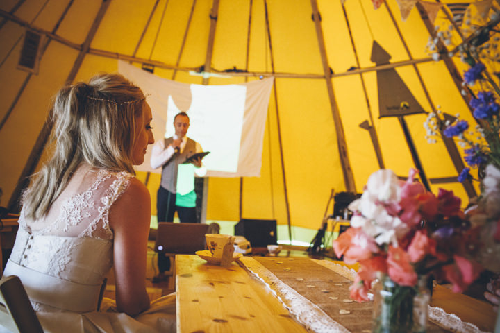 49 Homemade Tipi Wedding By Yvonne Lishman