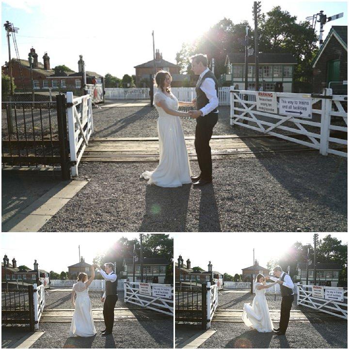 49 Vintage Railway DIY Wedding By Rebecca Prigmore Photography