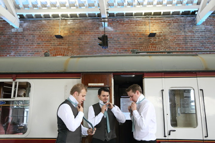 9 Vintage Railway DIY Wedding By Rebecca Prigmore Photography