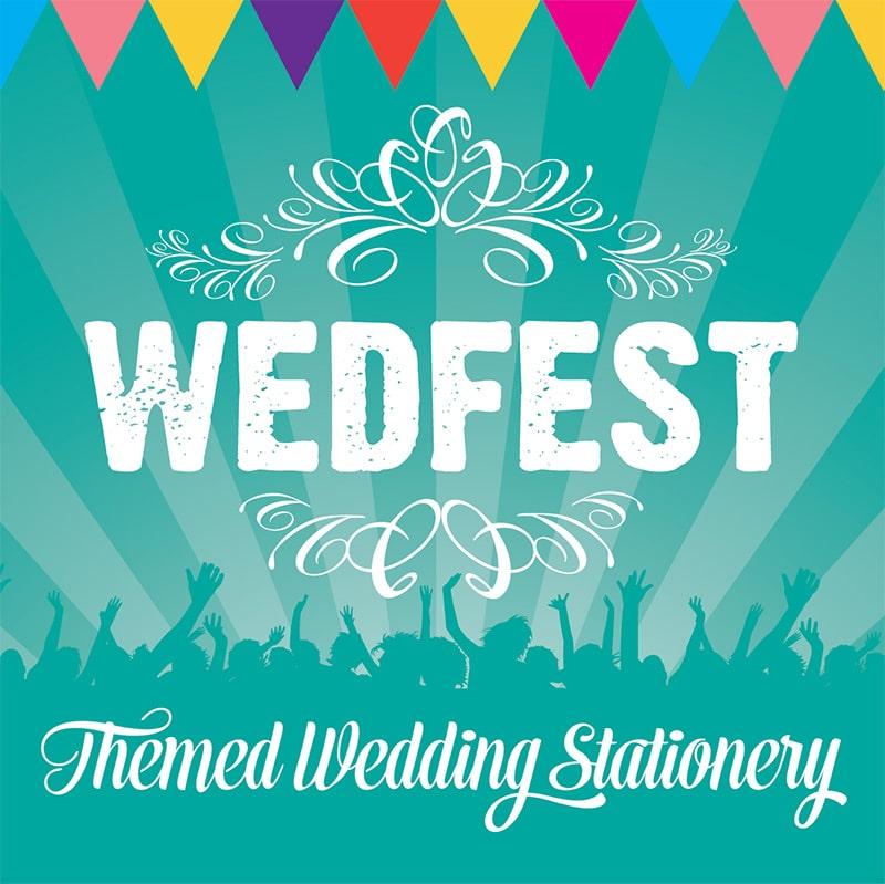 Wedfest - Stationery