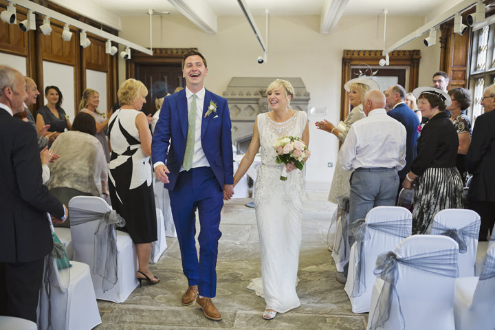 14 Homemade Wedding With a Jenny Packham Dress By Mark Tattersall