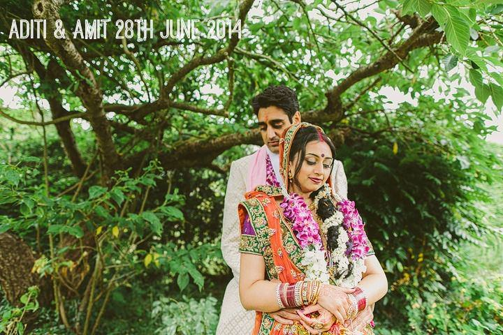 Aditi and Amit's Bright and Bold Hindu Wedding. By Luke Hayden
