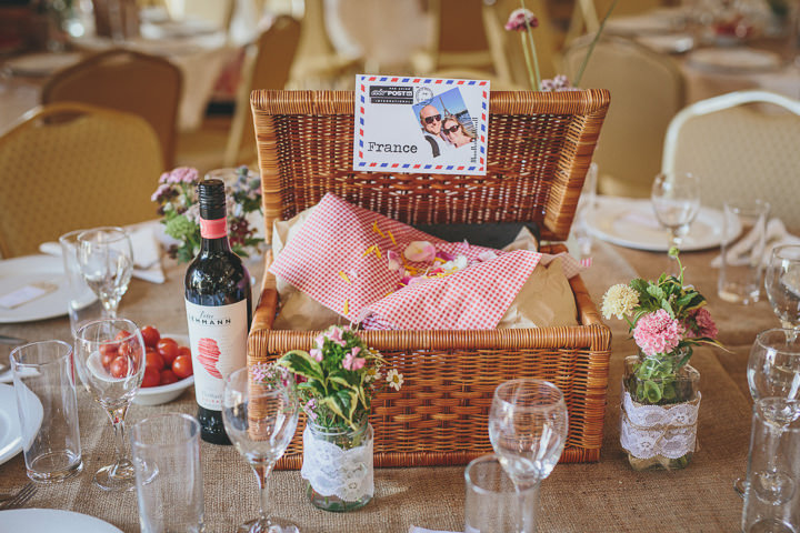 Picnic Basket Wedding Gift : Stephanie and greg s homemade village fete wedding by