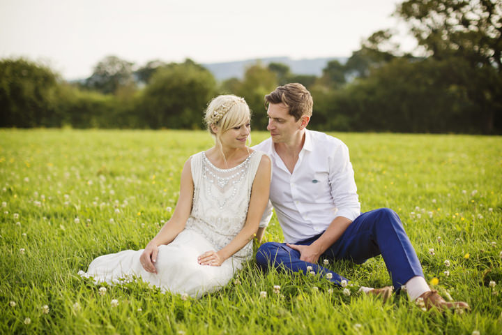 3 Homemade Wedding With a Jenny Packham Dress By Mark Tattersall